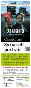 Syria self portrait-Cartell