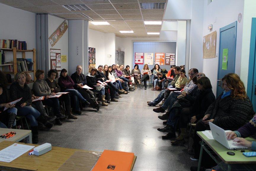 Assistents a la trobada Òmnia de Barcelona Ciutat