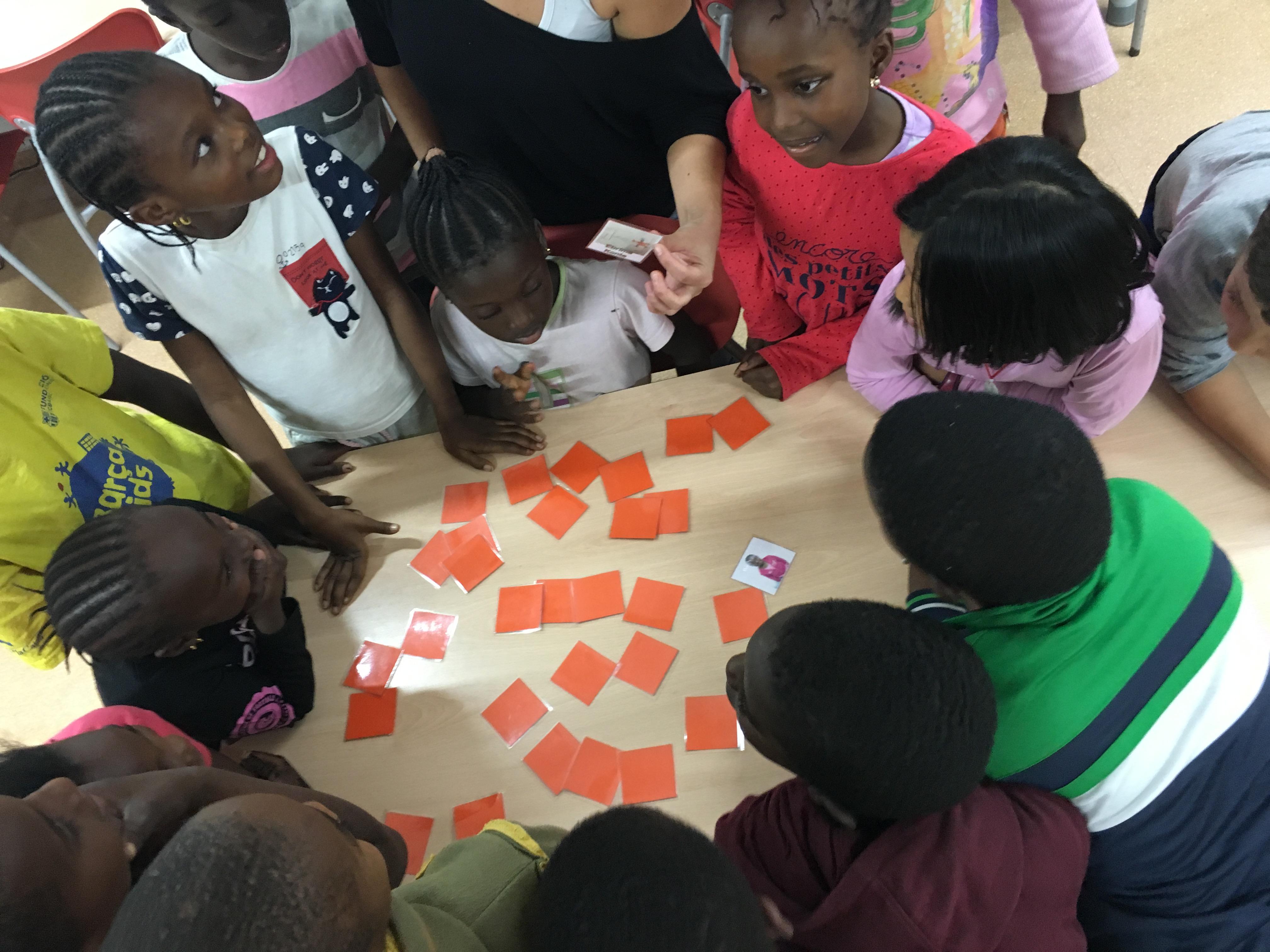 Taller 20 de novembre amb els nens i nenes dels socioeducatius!